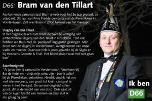 Ik ben D66! Bram van den Tillart