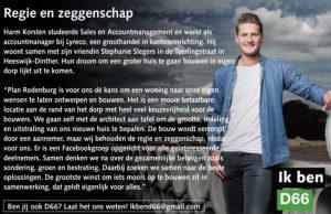 Ik ben D66! Harm Korsten uit Heeswijk-Dinther: Regie en zeggenschap