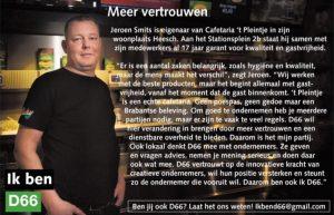 Ik ben D66! Jeroen Smits uit Heesch: Meer vertrouwen