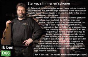 Ik ben D66! Rik Ruigrok uit Loosbroek: Sterker, slimmer en schoner