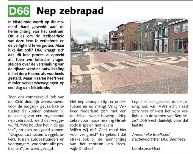 Annemieke Boellaard: Nep zebrapad