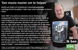 Ik ben D66! Michel van Zuijlen uit Vorstenbosch: Een mooie manier om te helpen